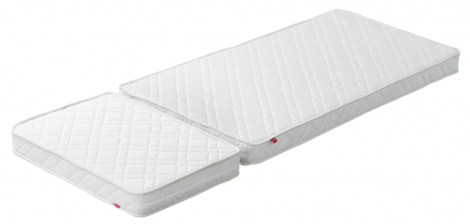 matelas pour lit enfant extensible white flexa file. Black Bedroom Furniture Sets. Home Design Ideas