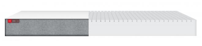Matelas Mousse Deluxe 90x180x12 + housse coton