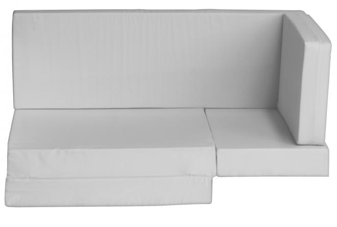 Matelas en mousse pour lit mezza Casa White 190