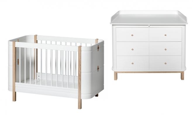 Mini Chambre bébé Mini + évolutive