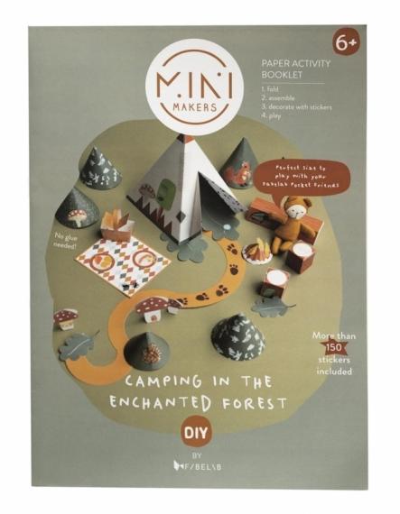 Mini livre de bricolage Enchanted Forest