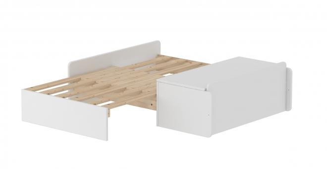 Module de couchage pour lit mezzanine XL White