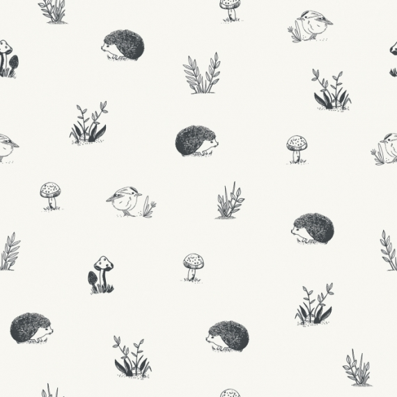 Papier peint Animaux forêt enchantée
