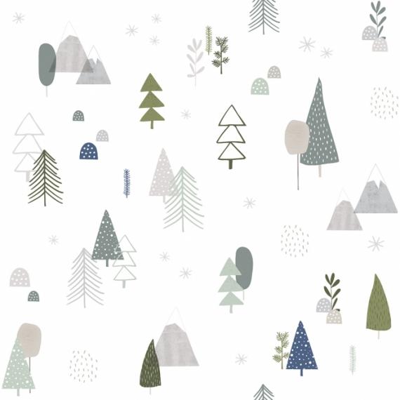 Papier Peint Forêt