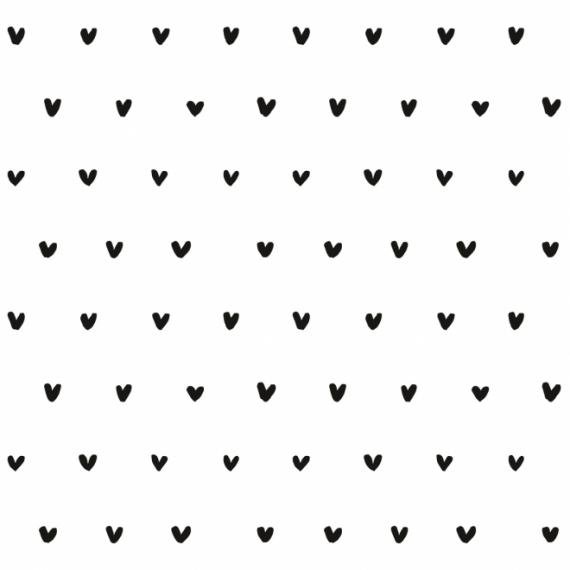 Papier Peint-Motif Cœur