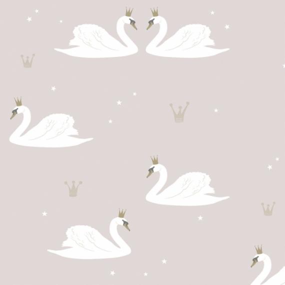 Papier Peint Cygne Swans