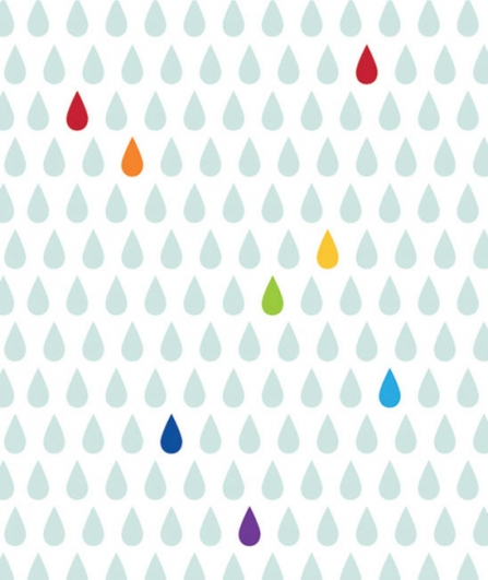papier peint rainbow lilipinso file dans ta chambre. Black Bedroom Furniture Sets. Home Design Ideas