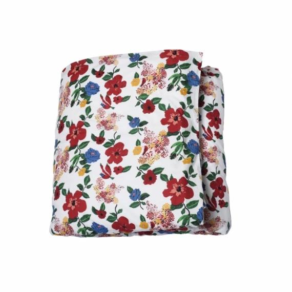 Parure de lit 150x220 Hibiscus