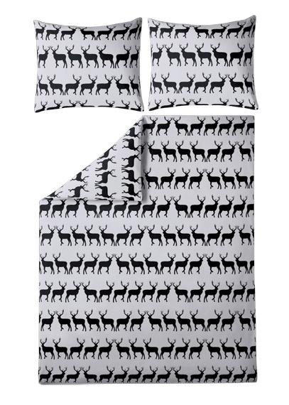 Parure de lit 240x220 Cerfs