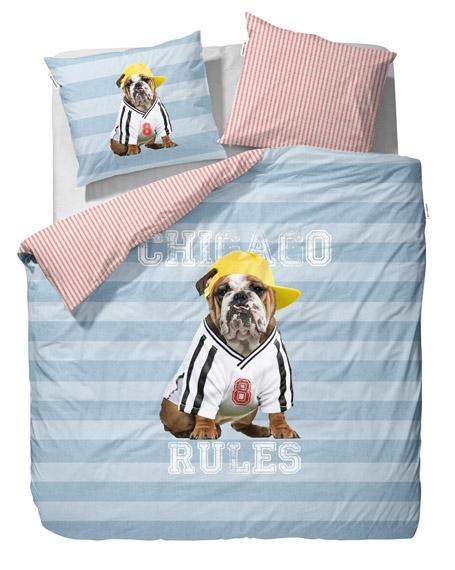 parure de lit 200x200 bulldog file dans ta chambre. Black Bedroom Furniture Sets. Home Design Ideas
