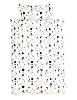 Parure de lit 100x140 Kite   Ferm Living   Rose | File Dans Ta Chambre