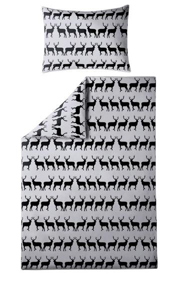 Parure de lit 140x200 Cerfs