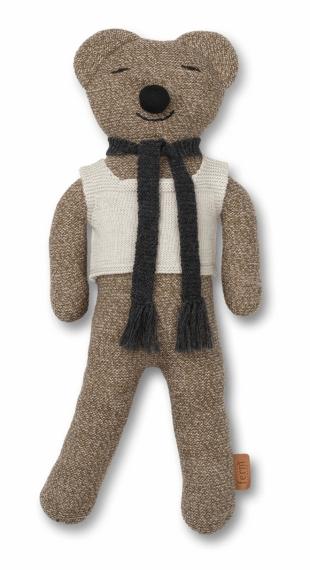 Peluche Teddy Roy laine Mérinos