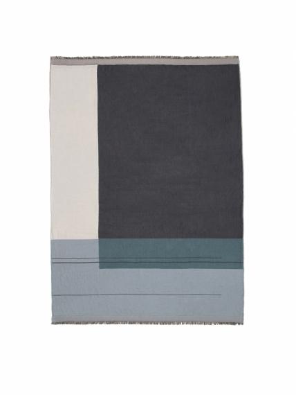 Plaid 130x180 Colour Block