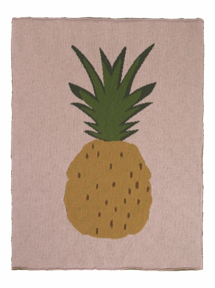 Plaid 80x100 Fruiticana Pineapple