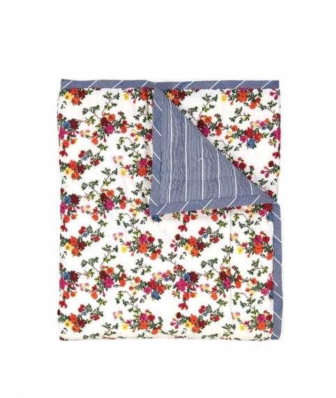 Plaid quilté 115x140 Josephine Garden
