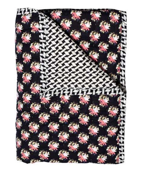 Plaid quilté 115x140 Russian Flower