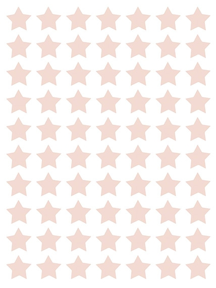 Planche de stickers Etoiles