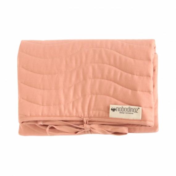 pochette langer marbella nobodinoz dolce vita pink. Black Bedroom Furniture Sets. Home Design Ideas