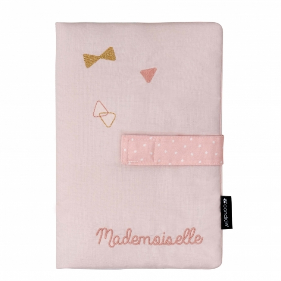 Protège carnet de santé Mademoiselle
