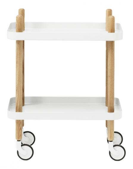 Petite table à roulettes Block