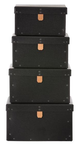 Set de 4 boxes