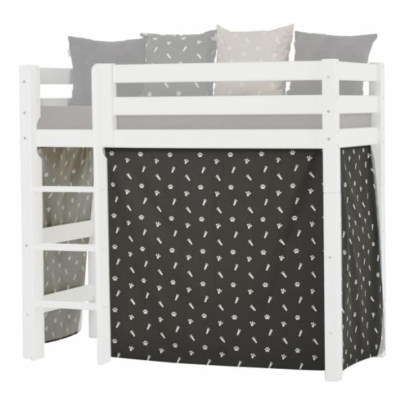 Rideau de lit mezzanine mi-hauteur Pets 70x160