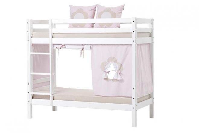 rideau de lit mezza superpos basic hoppe 70x160. Black Bedroom Furniture Sets. Home Design Ideas
