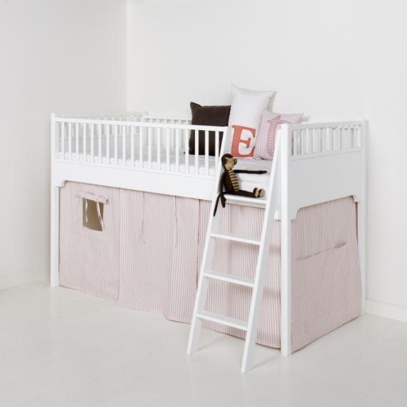 Rideau pour Lit mezzanine mi-hauteur Seaside - Oliver Furniture ...