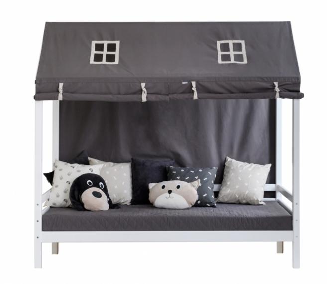 Rideau tente de lit House 90x200