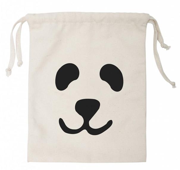Sac à Jouets Tissu Panda S