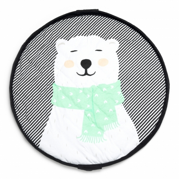 Sac tapis de jeu 3 en 1 Polar bear