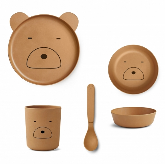 Set de vaiselle Ours Mr Bear