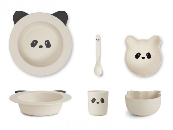 Set de vaisselle Barbara Panda