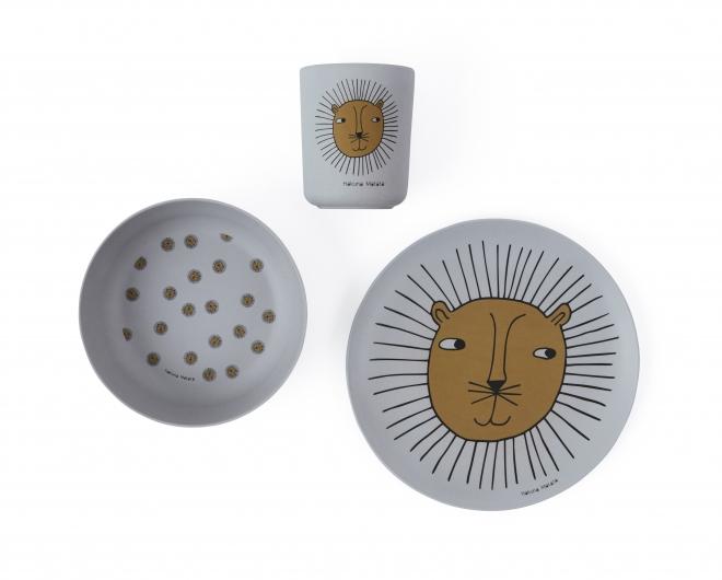 Set de vaisselle Lion