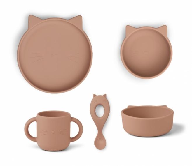 Set de vaisselle Vivi Cat le Chat