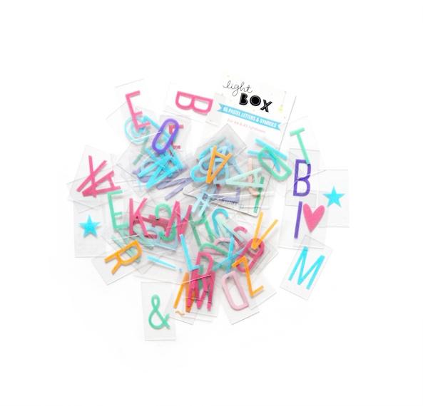 Set Lightbox Letters