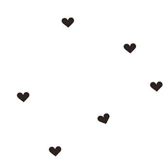 Sticker Mini Hearts