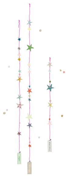 Sticker Fil d'étoiles