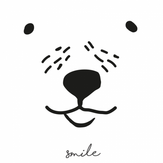 Sticker Ours Smile