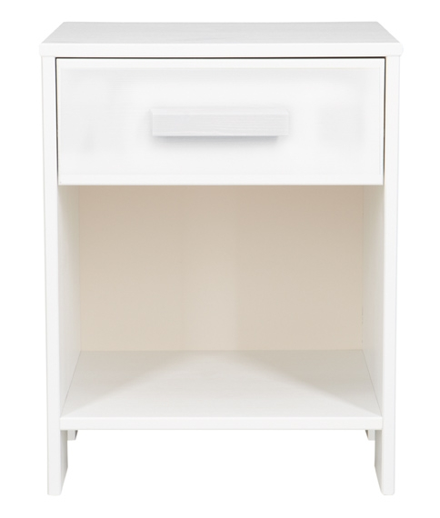 table de nuit axel nordic factory blanc file dans ta. Black Bedroom Furniture Sets. Home Design Ideas
