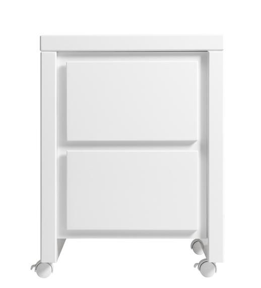 table de nuit caisson camille bopita blanc file. Black Bedroom Furniture Sets. Home Design Ideas