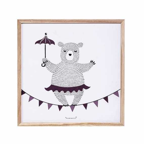 Tableau Circus Bear
