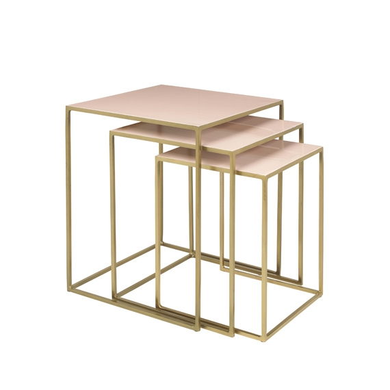 Tables gigognes Freja - lot de 3