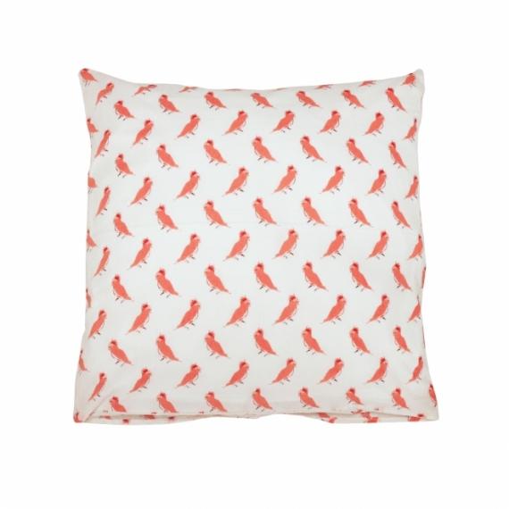 Taie d'oreiller 63x63 Punky Bird
