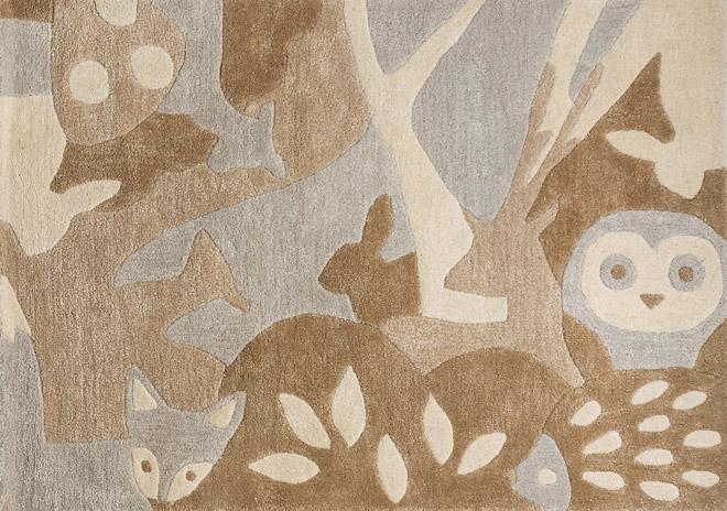 Tapis Forêt 110x160