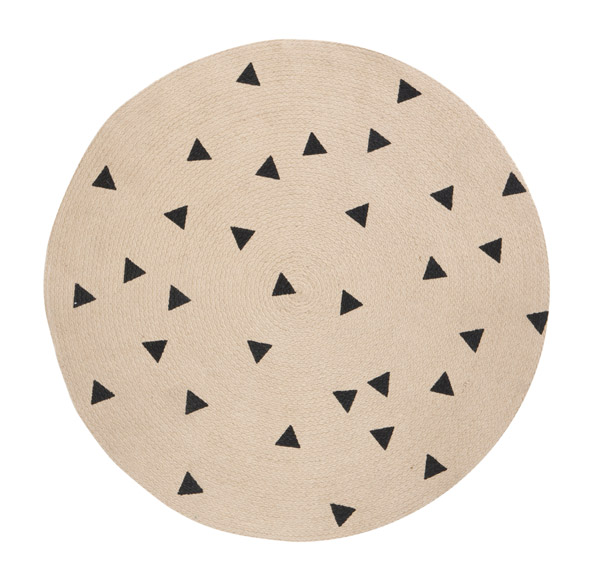 Tapis Triangles 100cm