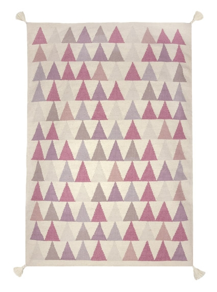 Tapis Triangles 110x160
