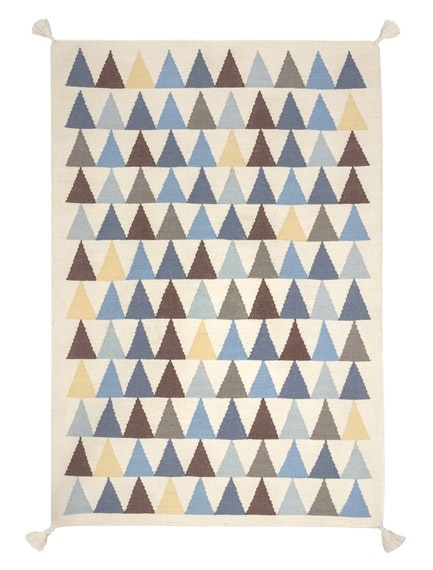 Tapis Triangles 110x160