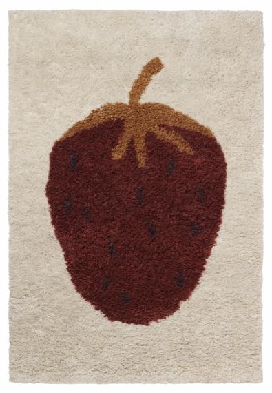 Tapis Fruiticana Fraise 120x180